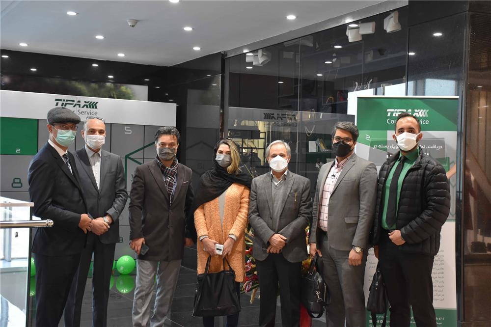 لجستیک و حملونقل-افتتاح لاکر تیپاکس در مجتمع تجاری اوپال