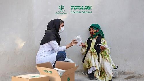 همکاری با وزارت بهداشت، درمان و آموزش کشور در ارسال ماسک به سراسر کشور